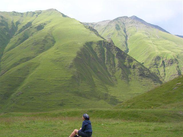 Zdjęcia: okolice Kazbegi, Kaukaz, Juta IV, GRUZJA