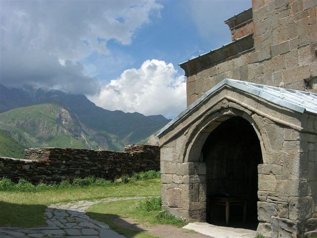 Zdjęcia: Kaukaz, Cminda Sameba, GRUZJA