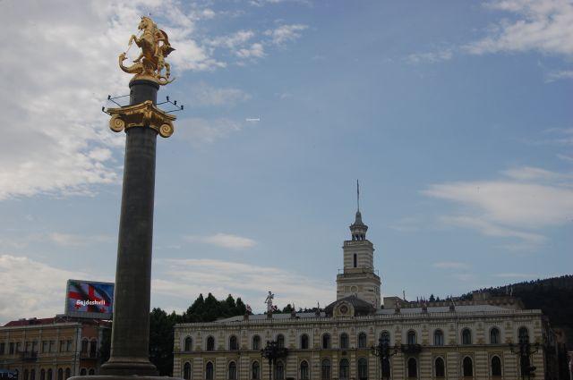 Zdjęcia: Tbilisi, Plac Wolności w Tbilisi, GRUZJA