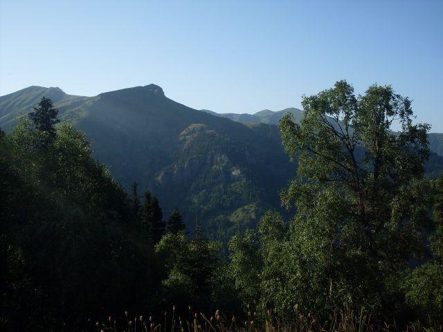 Zdjęcia: północny-zachód od Atskuri (Atskuri w połowie drogi pomiędzy Borżomi a Akhaltsikhe), Park Narodowy Borżomi-Karaguli, ... szumiący las..., GRUZJA