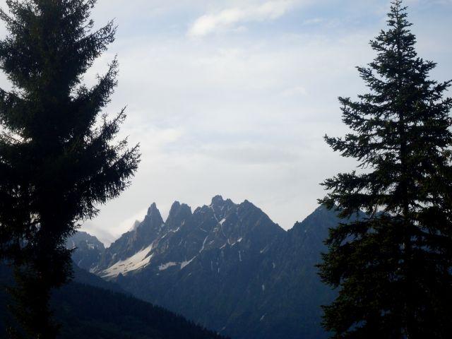 Zdjęcia: Mestia, okolice..., Swanetia, ...górski akt strzelisty..., GRUZJA