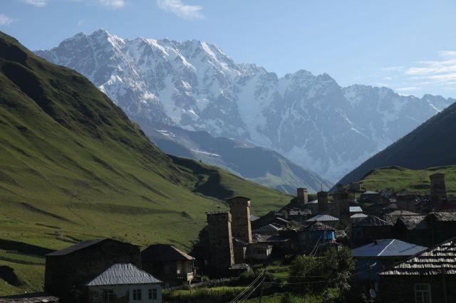 Zdjęcia: za wsią Ushguli, Megrelia/Górna Svanetia, ot...i Kaukaz :), GRUZJA