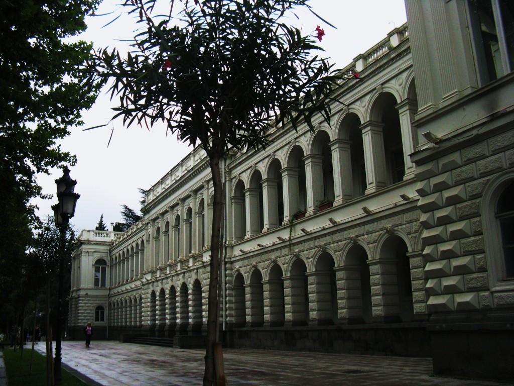 Zdjęcia: Al. Rustavelego, Stolica, Ulice Tbilisi, GRUZJA