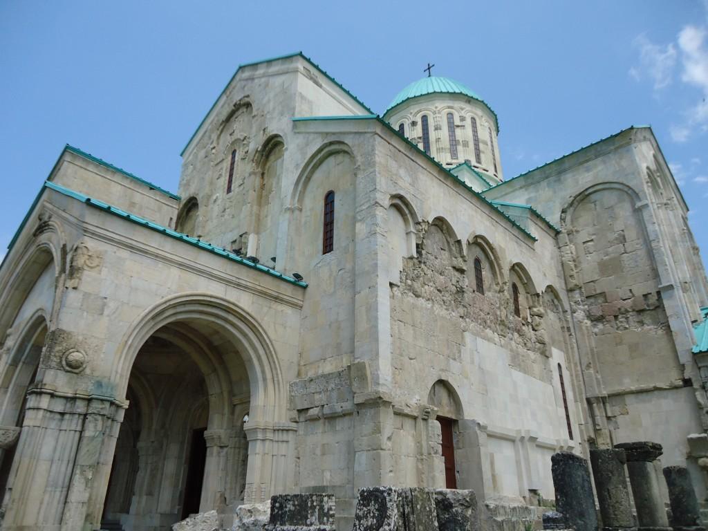 Zdjęcia: Kutaisi, Imeretia, Katedra Bagrati (2), GRUZJA