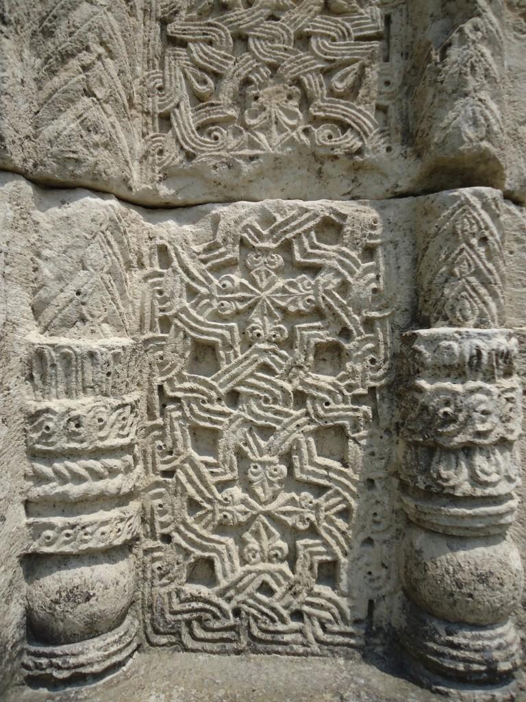 Zdjęcia: Kutaisi, Imeretia, Katedra Bagrati - detale, GRUZJA