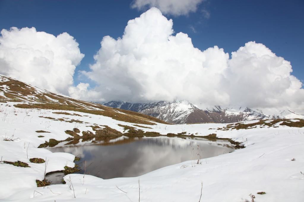Zdjęcia: Jeziorka Koruldi, Svanetia, Oczka Kaukazu, GRUZJA
