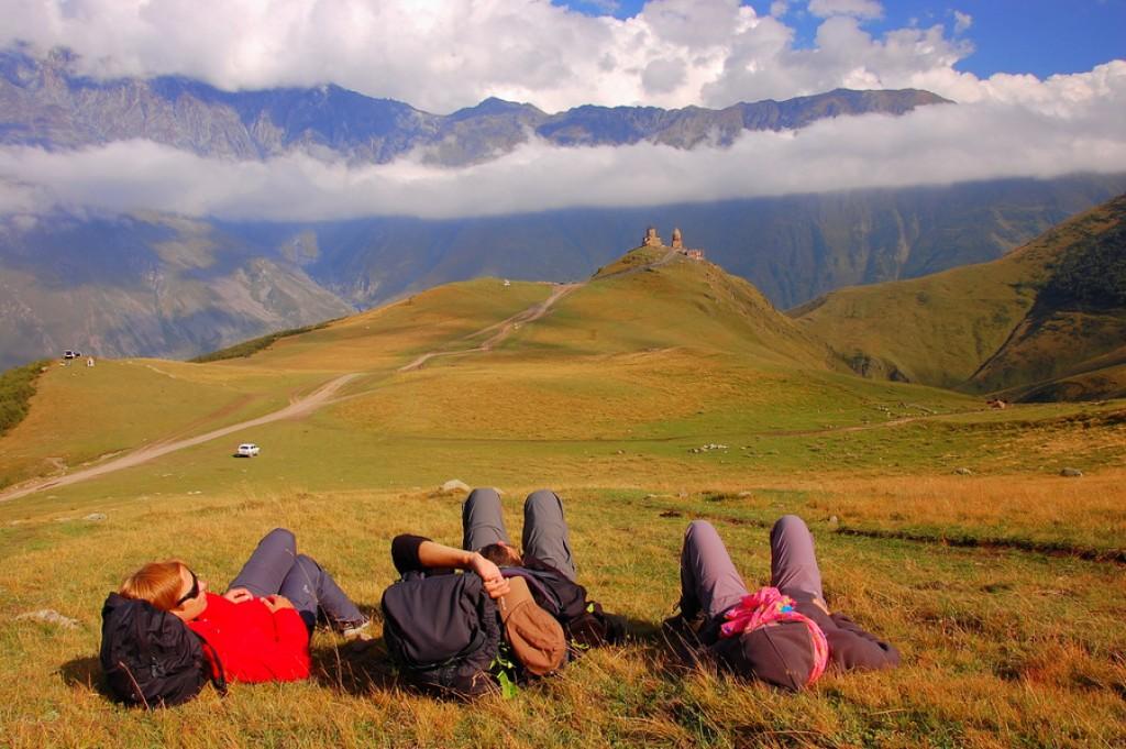 Zdjęcia: Kazbek, Gruzja, Konkurs - Dziki Kaukaz - tam wrócę na pewno ..., GRUZJA
