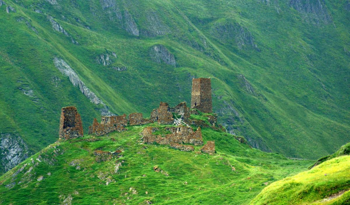 Zdjęcia: Dolina Truso, Kazbegi, Dolina Truso, GRUZJA