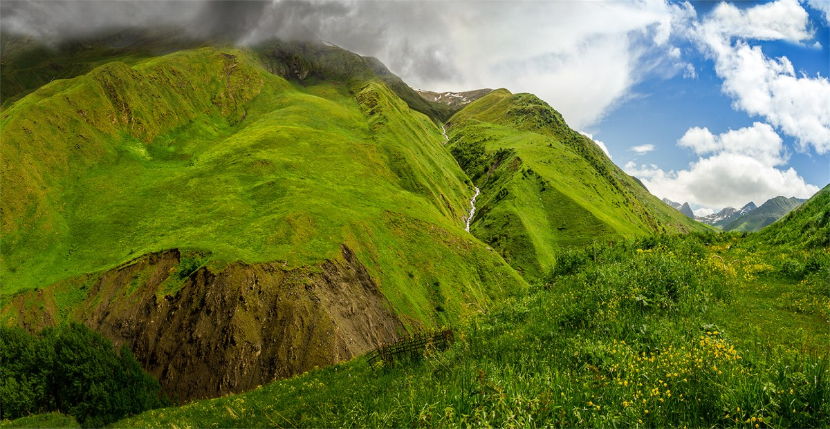 Zdjęcia: Dolina rzeki Arthmosikali, Mtskheta-Mtianeti, Artkhmo, GRUZJA