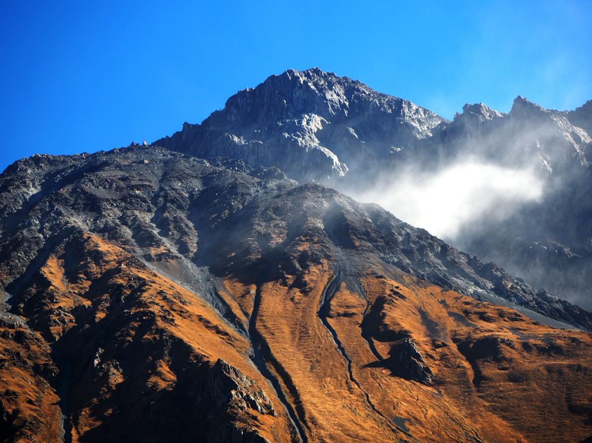 Zdjęcia: Stepancminda (Kazbegi), Mccheta-Mtianetia, Góry Kaukazu, GRUZJA