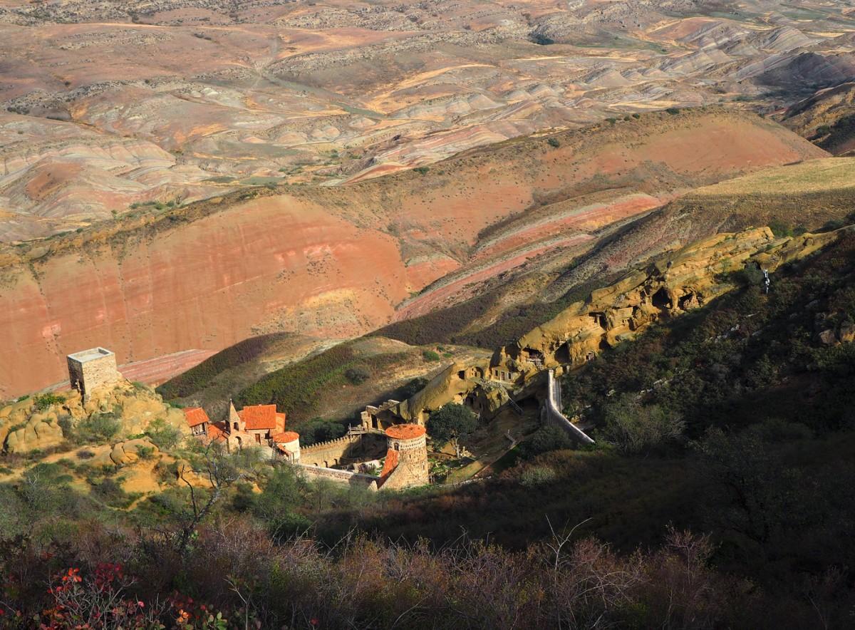 Zdjęcia: kompleks  klasztorny Dawid Garedża, Kachetia, Monaster Dawid Garedża, GRUZJA