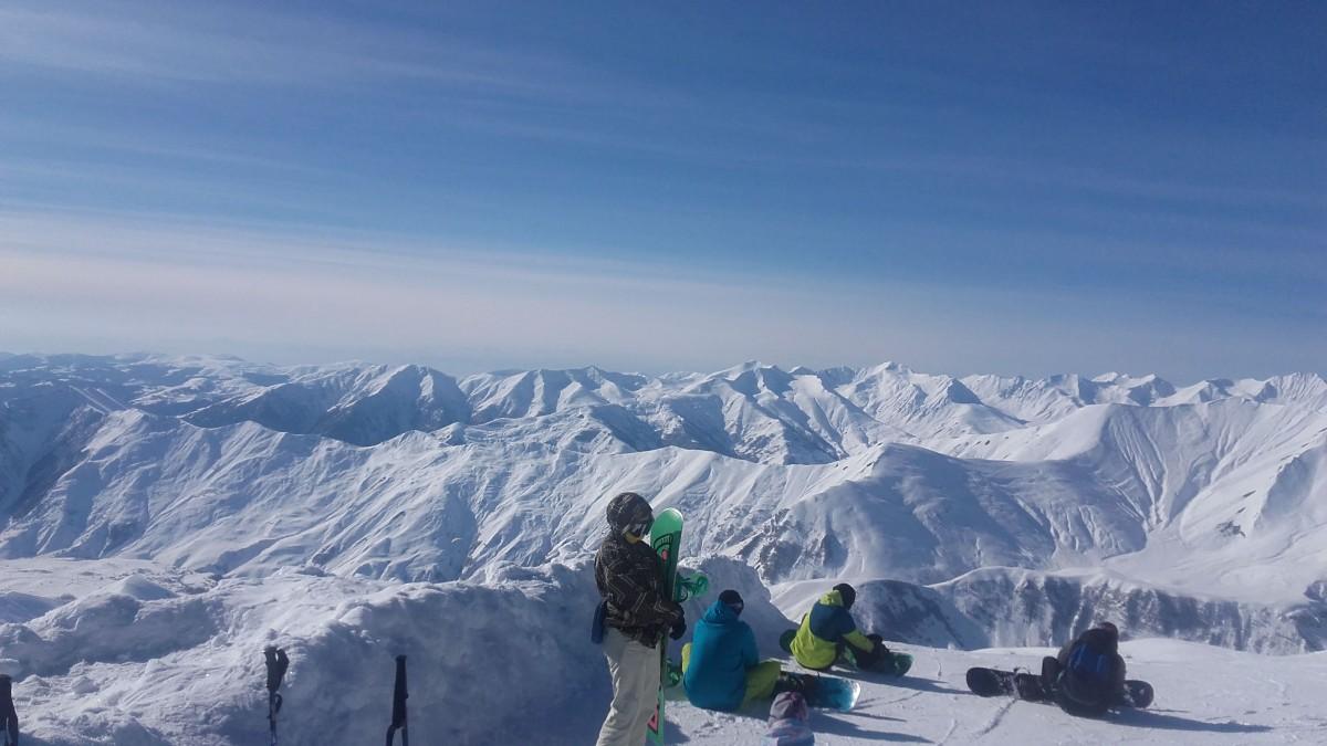 Zdjęcia: Kaukaz, Kaukaz, Góry Kaukaz zimą, GRUZJA