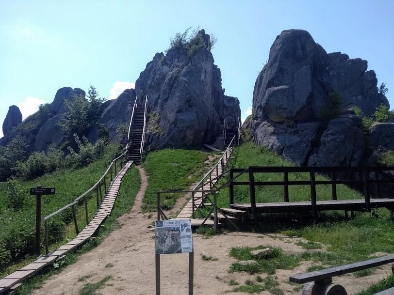 Zdjęcia: Tustan, Zakarpacie, Twierdza Tustan, GRUZJA
