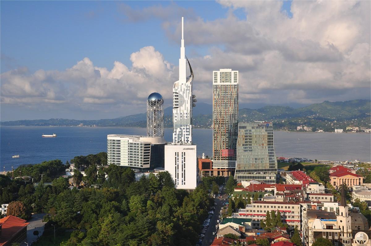 Zdjęcia: Batumi, Adżaria, Panorama Batumi , GRUZJA