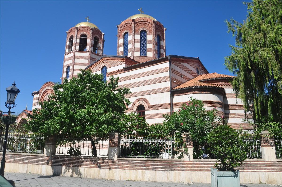 Zdjęcia: Batumi, Adżaria, Cerkiew w zabytkowej części Batumi, GRUZJA