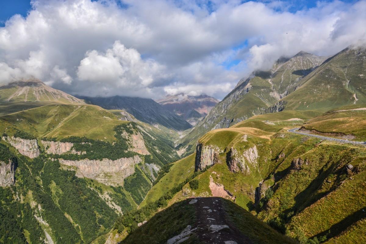 Zdjęcia: Kaukaz, Gruzińska droga wojenna, GRUZJA