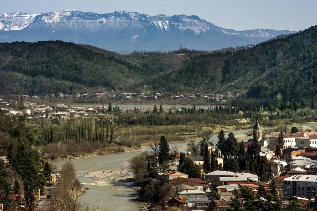 Zdjęcia: Kutaisi, Imeretia, nad Rioni, GRUZJA