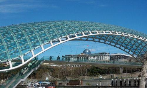 Zdjecie GRUZJA / - / Tbilisi / Tbilisi-nowy most