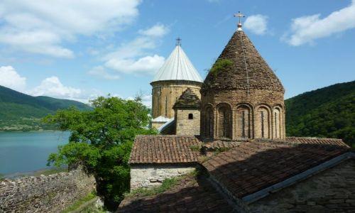 Zdjęcie GRUZJA / - / Ananuri / Ananuri twierdza kościelna
