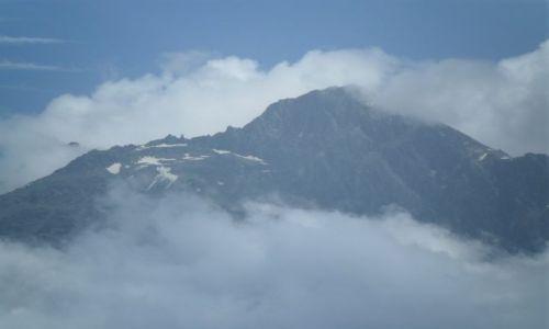 Zdjecie GRUZJA / - / Tsminda Sameba / Kaukaz Wysoki - widok z Tsminda Sameba