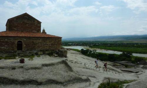 Zdjęcie GRUZJA / - / Okolice Gori / Uplicyche - miasto skalne
