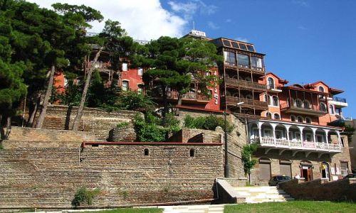 GRUZJA / , / Tbilisi / Architektura gruzińska