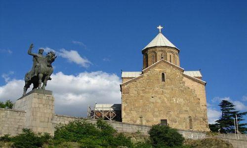 Zdjęcie GRUZJA / , / Tbilisi / Kościół Metechi