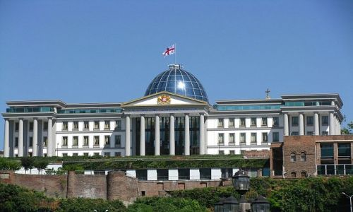 GRUZJA / . / Tbilisi / pałac prezydenta
