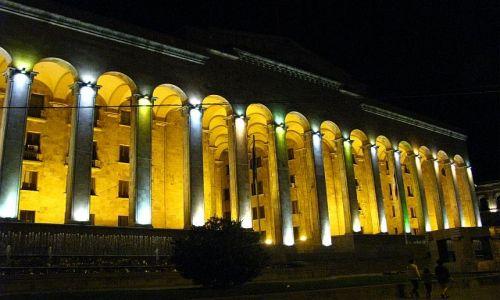 GRUZJA / . / Tbilisi / budynek parlamentu