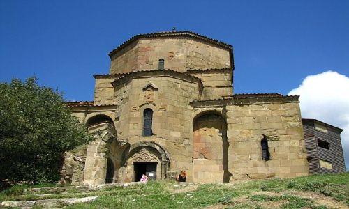 Zdjęcie GRUZJA / okolice Tbilisi / Mccheta / Kościół Dżwari