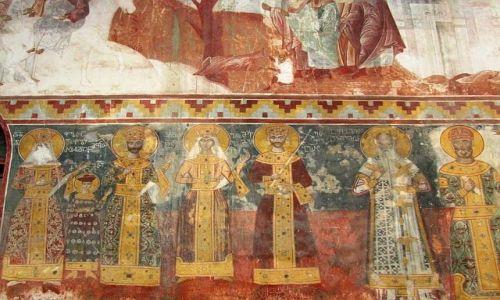 GRUZJA / Imeretia / Gelati / kościół Najświętszej Marii Panny
