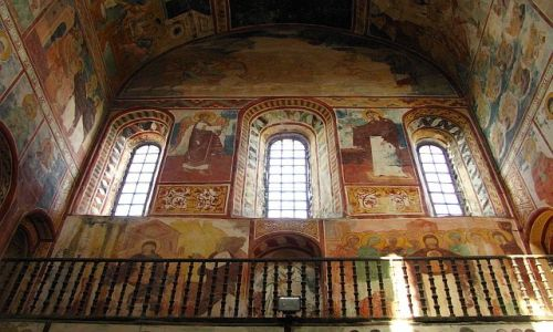 Zdjecie GRUZJA / Imeretia / Gelati / kościół Najświę