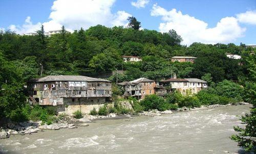 Zdjęcie GRUZJA / Imeretia / Kutaisi / rzeka