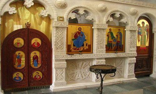 Zdjęcie GRUZJA / Imeretia / klasztor Motsameta ok. Kutaisi / ikonostas