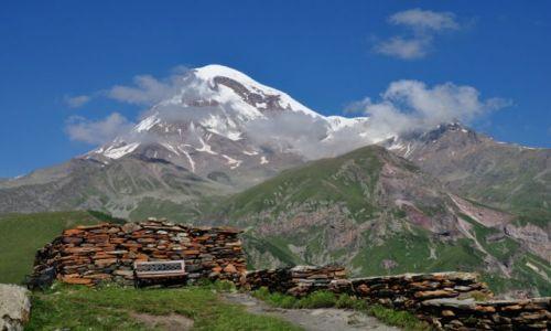 Zdjecie GRUZJA / Mccheta - Mtianetia / Góra Kazbek / Nieczynny wulkan