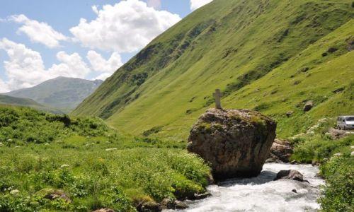 Zdjęcie GRUZJA / Mccheta - Mtianetia / Dolina Sno / Zielona dolina