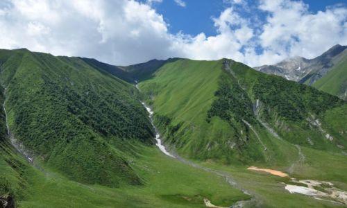 Zdjecie GRUZJA / Mccheta - Mtianetia / Okolice Kazbegi / Droga do Ketris