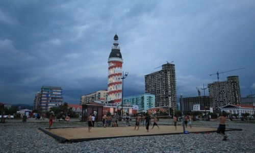 Zdjęcie GRUZJA / - / Batumi / Batumi w chmurach