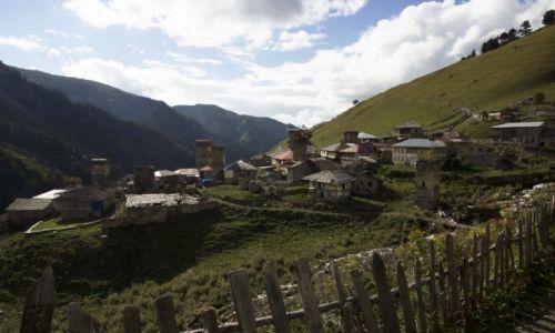 Zdjecie GRUZJA / Svanetia / Adisha / Konkurs - Zaginiona wioska w górach Svaneti