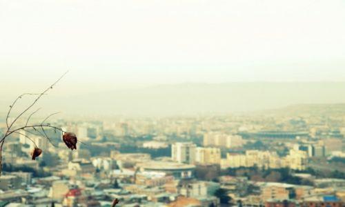 GRUZJA / Kwemo Kartlia / Tbilisi / Widok na Tbilisi