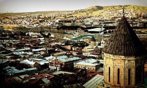 Zdjecie GRUZJA / Tbilisi / Tbilisi / Widok na Stare Miasto