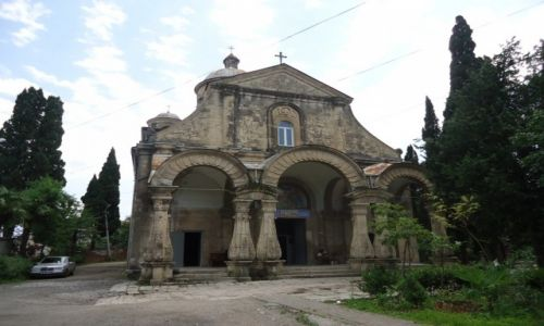 GRUZJA / Imeretia (Kolchida) / Kutaisi / Kościół w Kutaisi