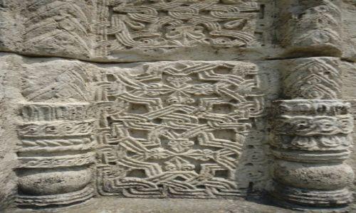 GRUZJA / Imeretia / Kutaisi / Katedra Bagrati - detale