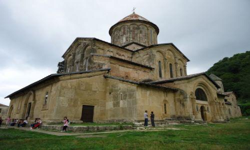 Zdjęcie GRUZJA / Imeretia / Gelati / Gelati - katedra