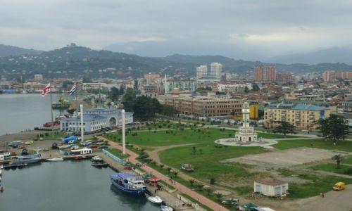 Zdjęcie GRUZJA / Adżaria / Batumi / Port w Batumi
