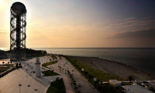 Zdjęcie GRUZJA / Adżaria / Batumi / Wieża Alfabet