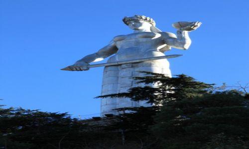 Zdjecie GRUZJA / Tbilisi / Wzgórze Sololaki / Pomnik Matki Gruzji w Tbilisi