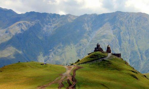 GRUZJA / Mccheta-Mtianetia / Stepancminda/Gergeti / Monastyr �wi�tej Tr�jcy