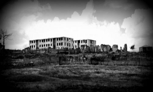 Zdjecie GRUZJA / Kachetia / Przy granicy z Azerbejdżanem / Opuszczona wioska