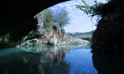 Zdjęcie GRUZJA / Kutaisi / Tsaltubo - Jaskinia Prometeusza / Na styku nocy i dnia